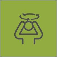 Symptom List Icon Dizziness & Balance Problems