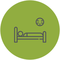 Symptom List Icon Trouble Sleeping