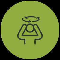 Symptom List Icons Dizziness And Balance Problems