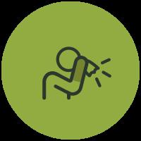 Symptom List Icons Sinus Problems