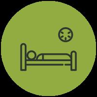Symptom List Icons Trouble Sleeping
