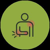 Symptom List Icons Upper Extremity Pain